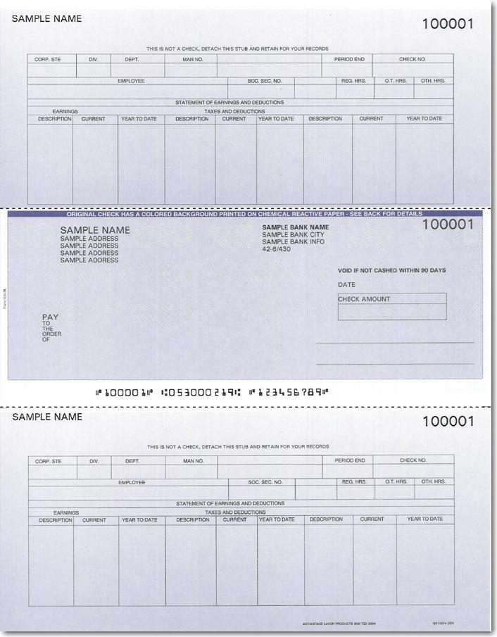 how to make payroll checks
