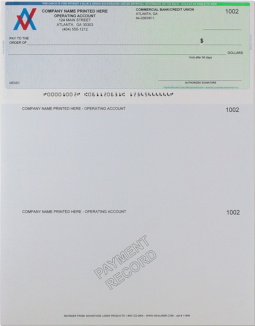 photo relating to Printable Checks for Quickbooks identified as Low cost Quicken, QuickBooks Voucher Exams - Massive SALE upon