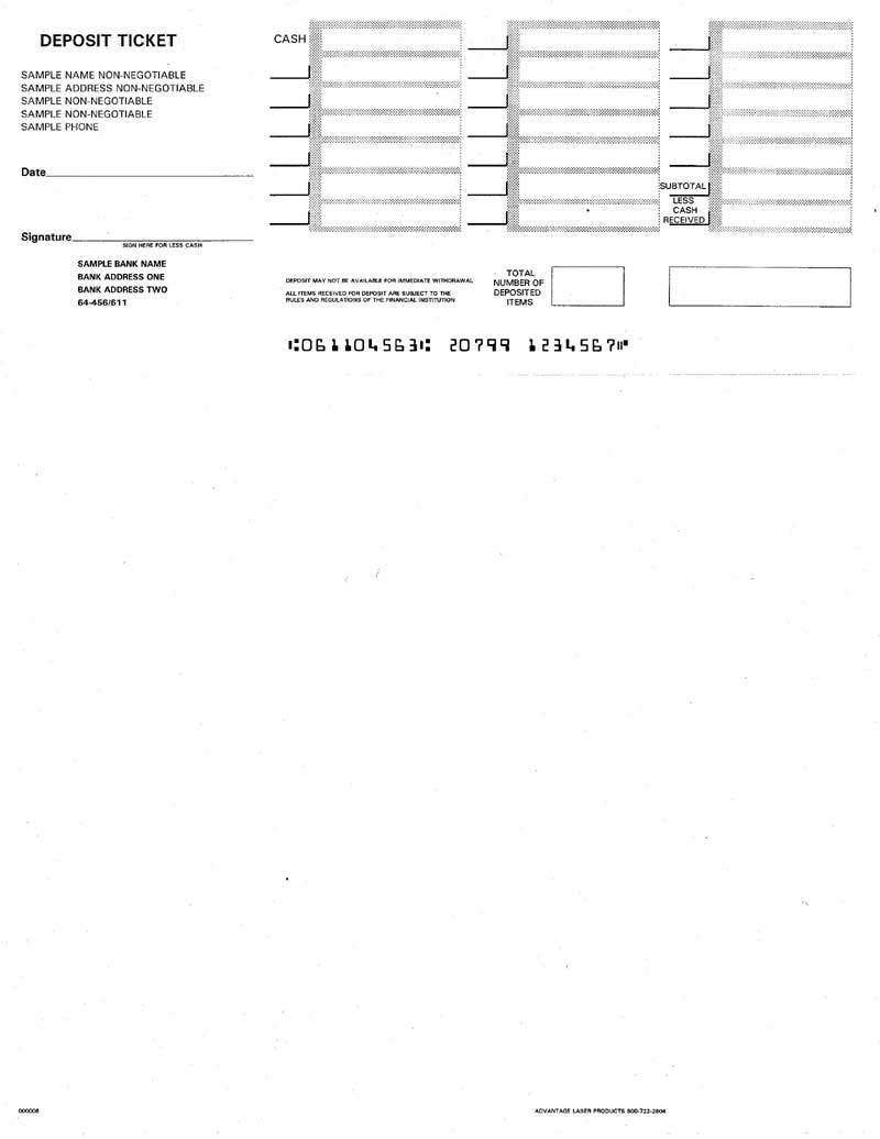 quickbooks payslip template - discount printable deposit slips for quickbooks big sale
