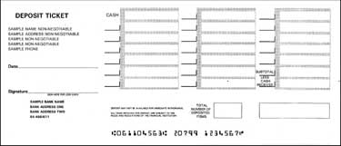Discount Printable Deposit Slips for QuickBooks - BIG SALE on ...